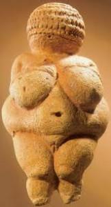Prehistorisch beeld van de oermoeder